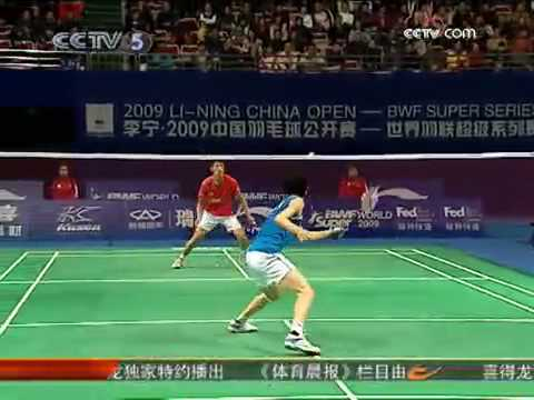 Interview with Baochunlai after vs Lindan in 09 China Open