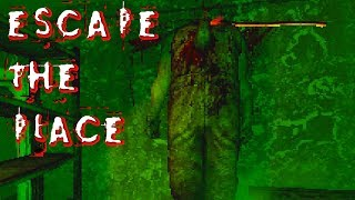TRASHIGER PIXEL HORROR | ESCAPE THE PLACE | LET'S PLAY INDIE HORROR | FACECAM
