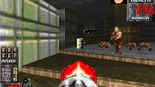 zdoom mod shooting monsters with textures and high res doom sound pack e1m6 and e1m7