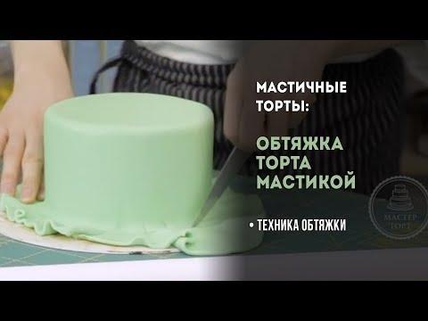 Обтяжка торта. Как обтянуть торт мастикой