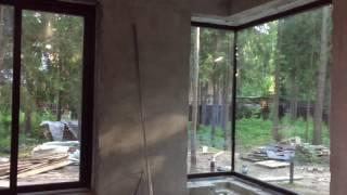 видео Панорамное остекление дома