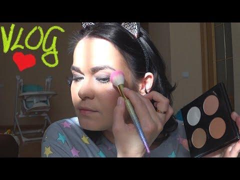 VLOG: Рожайте детей! Делаю макияж на камеру после длительного перерыва. Не судите строго 😇
