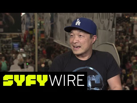 DC Comics' Jim Lee Reveals a New Earth - and Talks Imprints | New York Comic-Con 2017 | SYFY WIRE