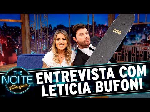 Entrevista com Leticia Bufoni | The Noite (16/06/17)