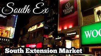 South Extension Market | South Ex, New Delhi