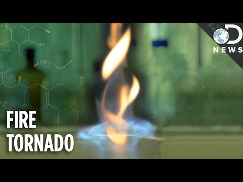 Why Scientists Are Creating Fire Tornadoes!