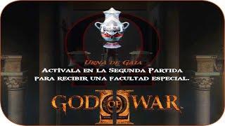 God of War 2 Ubicacion de las Urnas