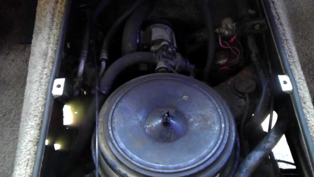 1988 Fleetwood Bounder 454 engine running strong  YouTube