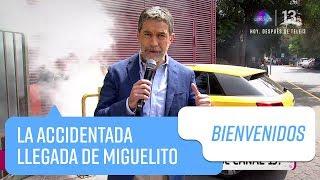 La accidentada llegada de Miguelito a Bienvenidos   Bienvenidos