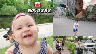 🇨🇦 Paseando con nuestros hijos + Valoremos nuestro PLANETA / PERUANA EN CANADA