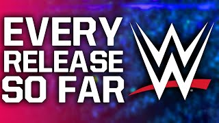 Every WWE Superstar/Staff Member Released So Far...