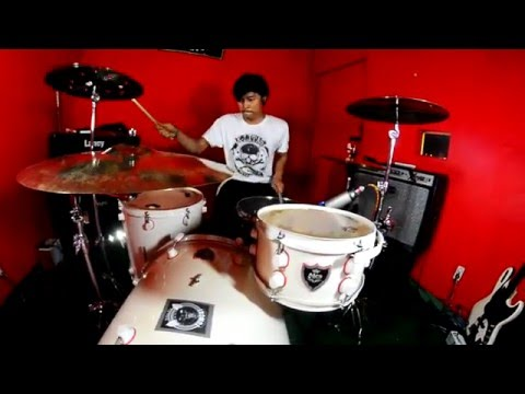 Thomas Juliarmy - Pee Wee Gaskins - Berdiri Terinjak ( Drum Cover )