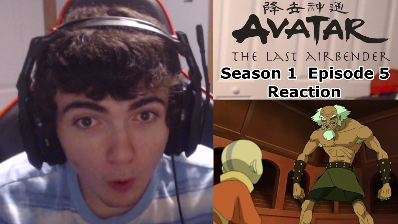 """The King of Omashu"" Avatar the Last Airbender Season 1 Episode 5 Reaction"