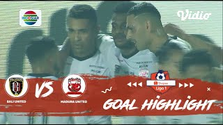 Bali United (0) vs (2) Madura United - Goal Highlights | Shopee Liga 1