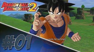 Dragon Ball Z Raging Blast 2 - Conhecendo O Jogo! - #1