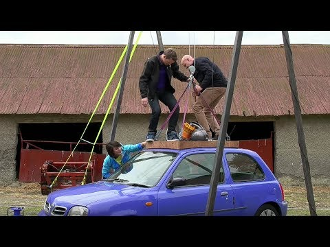 Lifting A Car With A Vacuum Cleaner - Factomania - Brit Lab