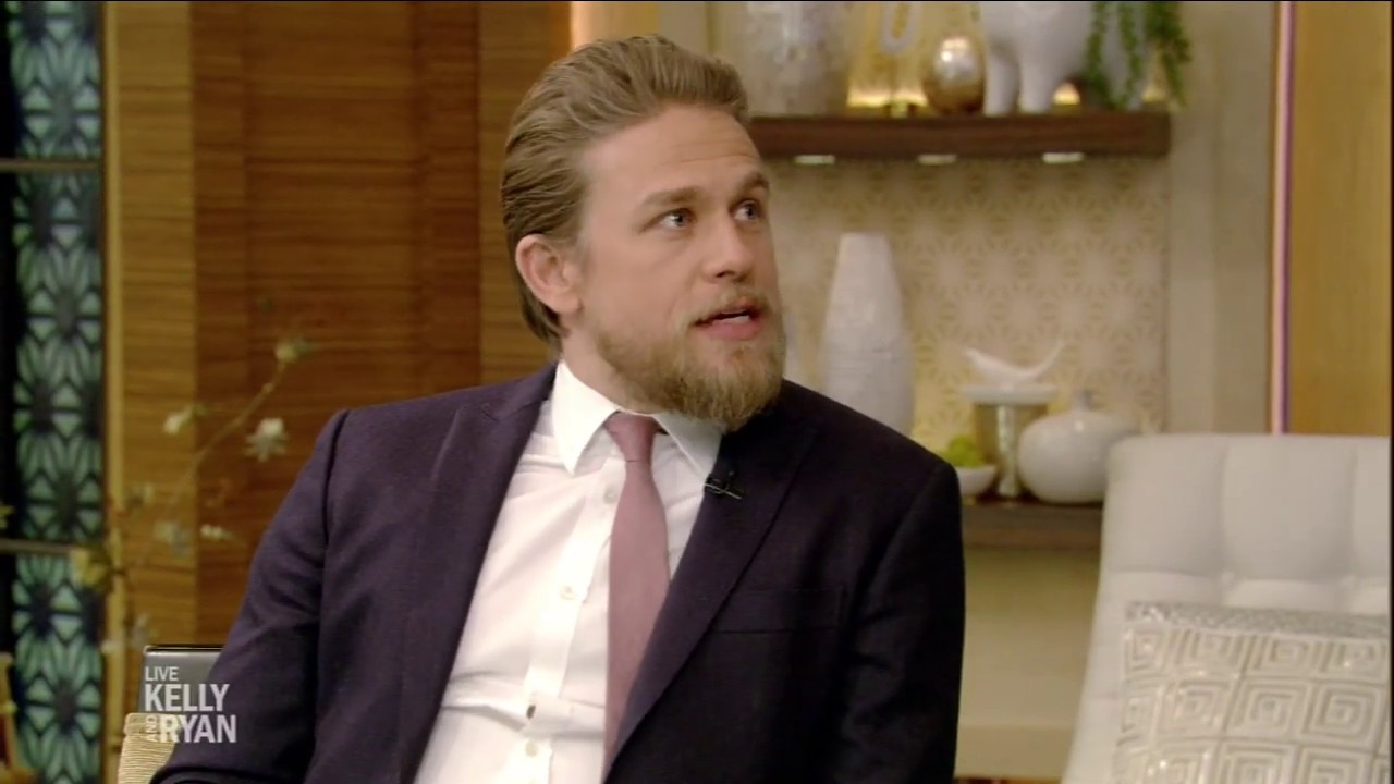 Charile Hunnam Got Discovered in a Shoe Store