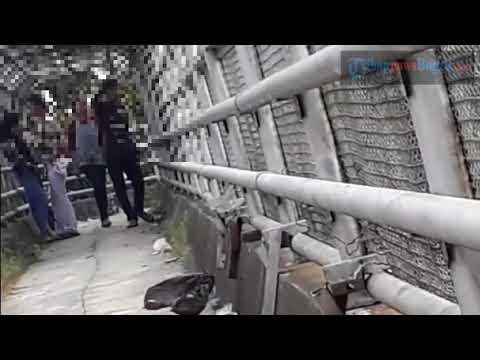 Duh, Remaja asal Bogor ini ketahuan mesum di jembatan