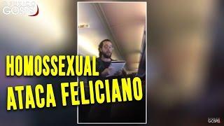 Urgente! Marco Feliciano é atacado em vôo
