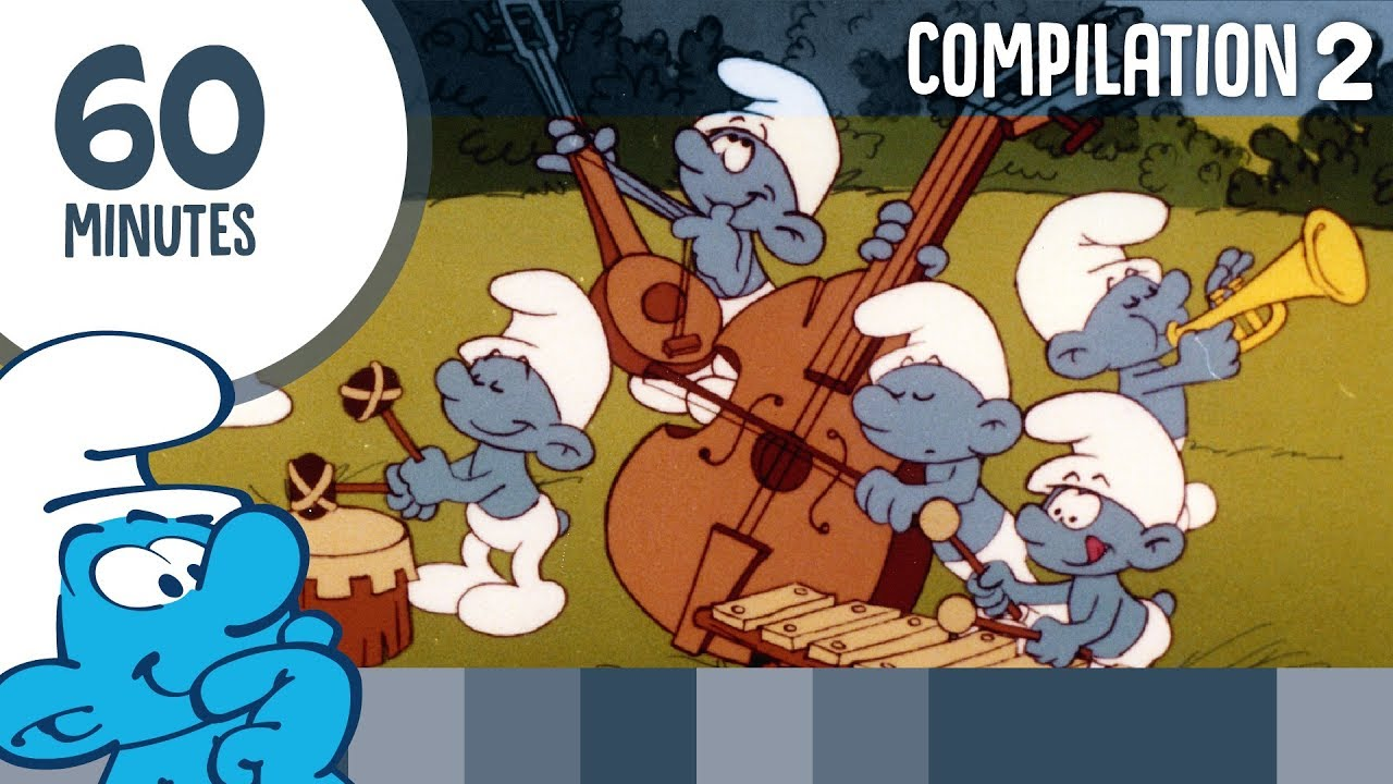 60 Minutes of Smurfs • Compilation 2 • The Smurfs