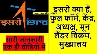 इसरो क्या हैं   Everything about ISRO in Hindi
