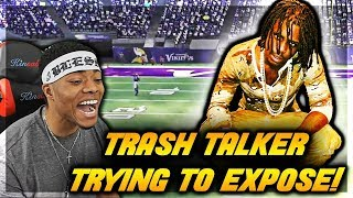 Madden 19 YEAR OLD TRASH TALKER EXPOSED ME?!  | Madden 18 Online Ranked Match | Jmellflo