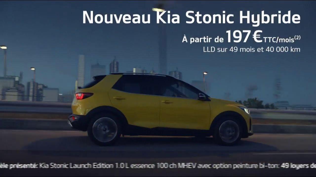 "Musique de la pub Kia Stonic Hybride ""le crossover énergisant""  Mai 2021"