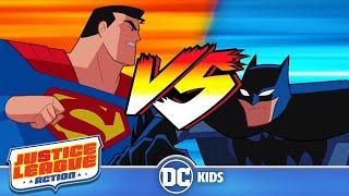 Justice League Action | Heroes VS Heroes | DC Kids