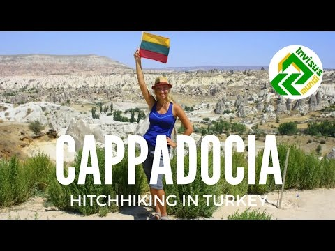 Visiting Cappadocia. Exploring Goreme town, Turkey with our friends from Iran