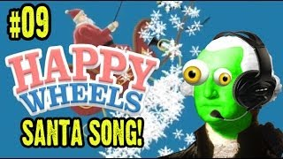 zgw plays happy wheels 9 santa claus song santa claus is coming to town