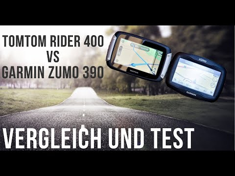 vergleich tomtom 400 vs garmin 390 youtube. Black Bedroom Furniture Sets. Home Design Ideas