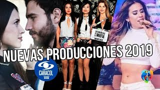 Estas son las NUEVAS PRODUCCIONES de Caracol TV 2019