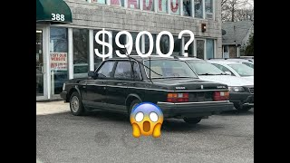 I bought a 1989 Volvo 240 for $900. Here's what's wrong with it