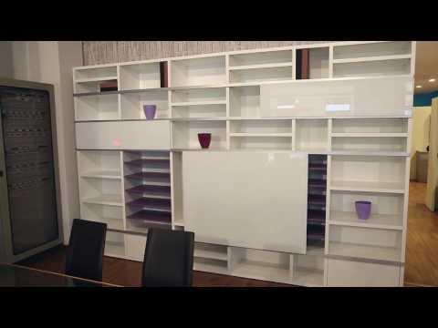 Inventoom | Finitura del Corten per le librerie Segmento ...