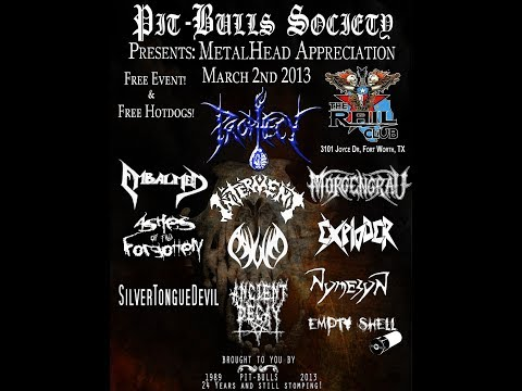 """3-2-13 PROPHECY - """"Silent Suffering"""" - The Rail Club - Fort Worth, TX!"""