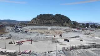 DJI Phantom 3 - Candlestick Point Stadium Demolition
