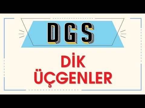 DGS DİK ÜÇGENLER - ŞENOL HOCA