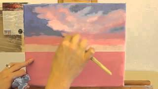 Scumbling Painting Technique Using Acrylic