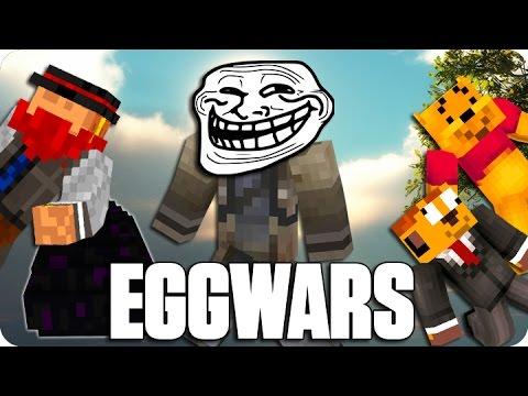 ¡EL HACKER DE LOS HUEVOS! EGGWARS | Minecraft Con Luh, Exo Y Macundra