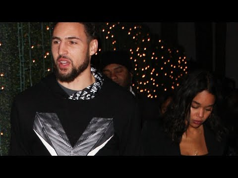 Klay Thompson SHOWS OFF His Baddie New Girlfriend At Drake's NYE Party!