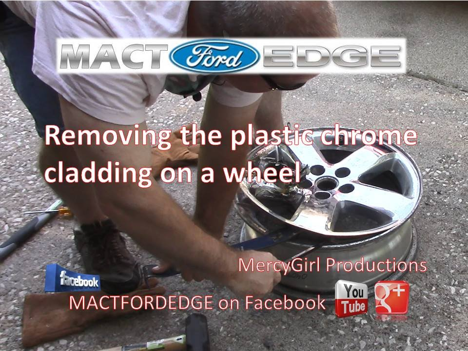 How To Remove The Chrome Clad Wheel Covers Youtube