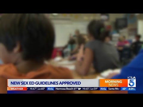 California Approves Controversial New Sex Education Guidelines