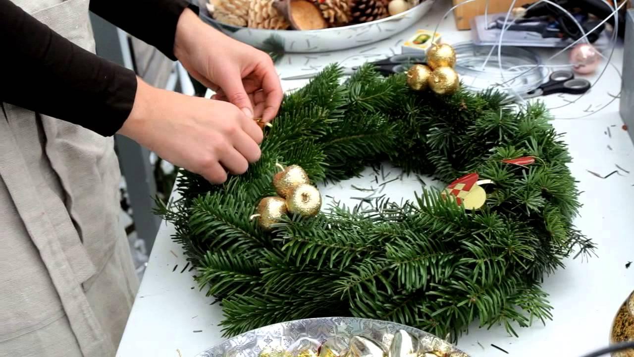 føtex juleinspiration 2012 - Adventskrans