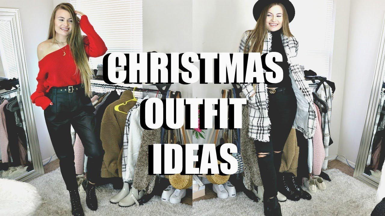 [VIDEO] - CHRISTMAS OUTFIT IDEAS / LOOKBOOK + GIVEAWAY!! ♡ 8