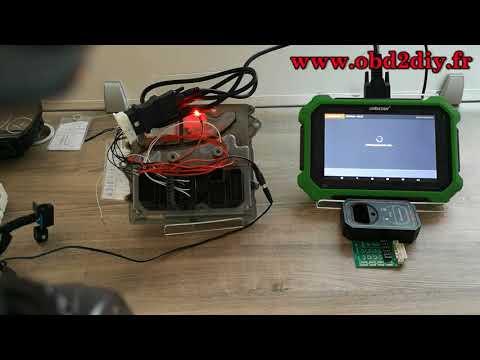 Comment utiliser obdstar x300 dp plus pour la lecture de code à barres de la BMW Série 5 DME ISN 200