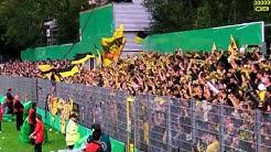 DFB Pokal 1. Hauptrunde: SV Sandhausen - Borussia Dortmund (Gästeblock BVB Stimmung 2011/12 )