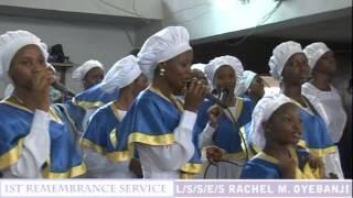celestial church of christ comforter cathedral akoka parish 1 choir april 2013 part 3