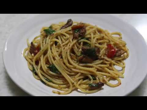 Let's Cook! 2 - Aglio Olio - May-may's Kitchen