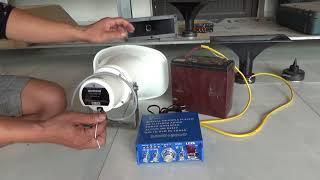 Cách sử dụng loa toa indo 30w các bác tham khảo lh 0865002688