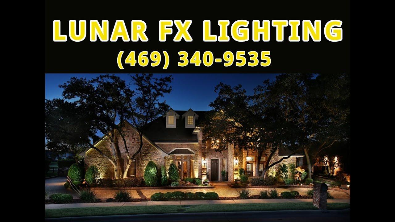Landscape Lighting Company Plano Dallas Frisco Mckinney Tx